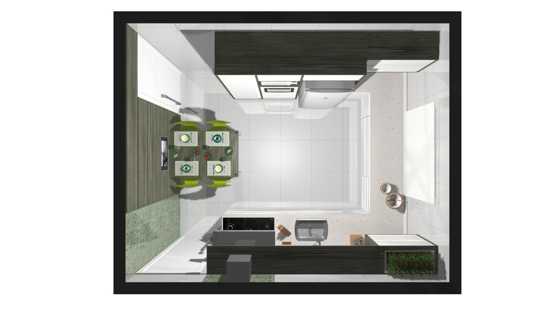 Projeto – Cozinha Prática #6D4430 1920 1080