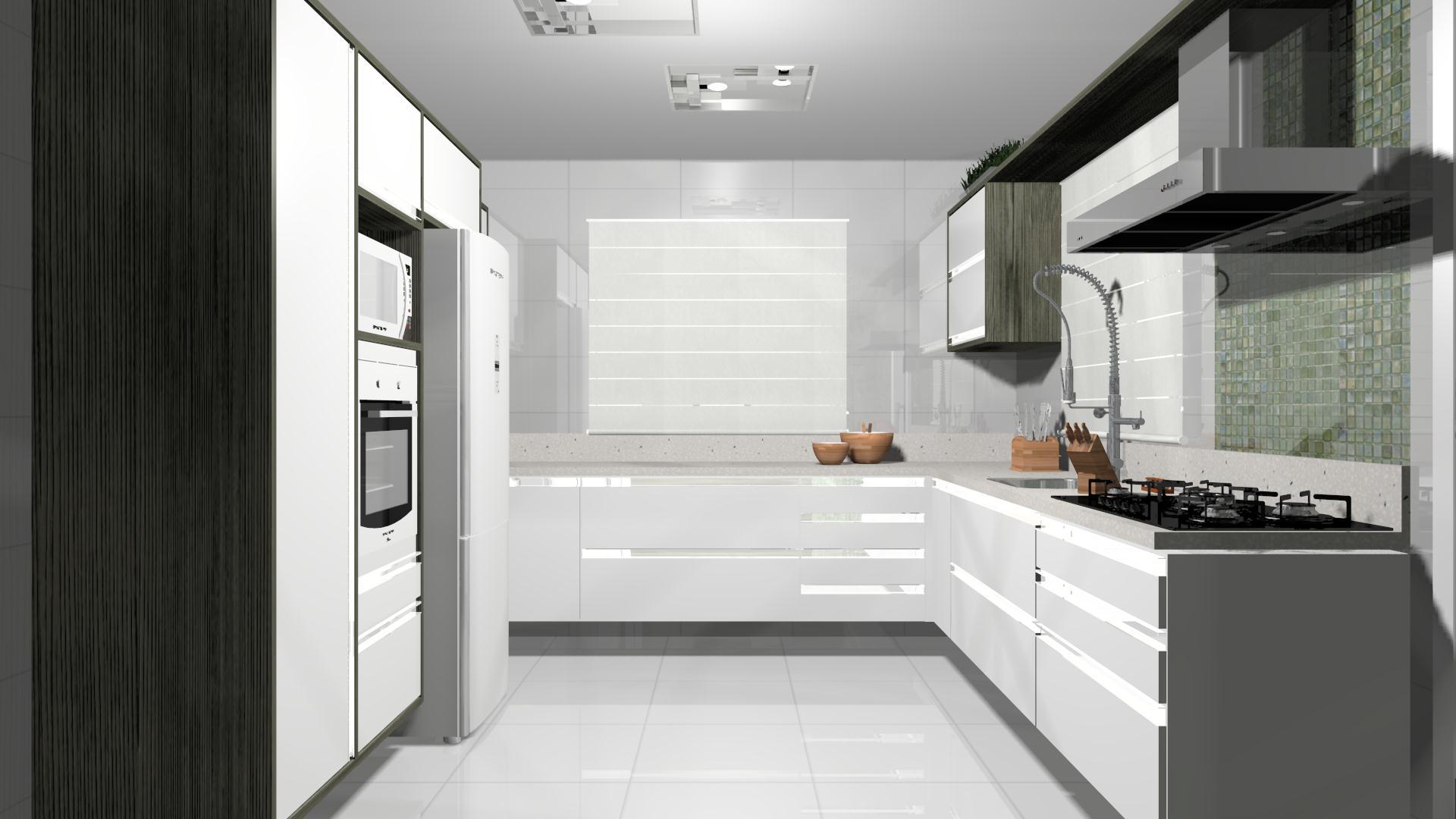 #8B5F40 Projeto – Cozinha Prática 1920x1080 px Projetos De Cozinhas Brastemp #439 imagens