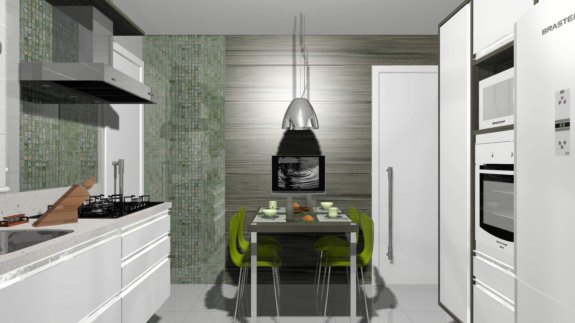 Projeto de cozinha moderna e prática #634631 1920 1080