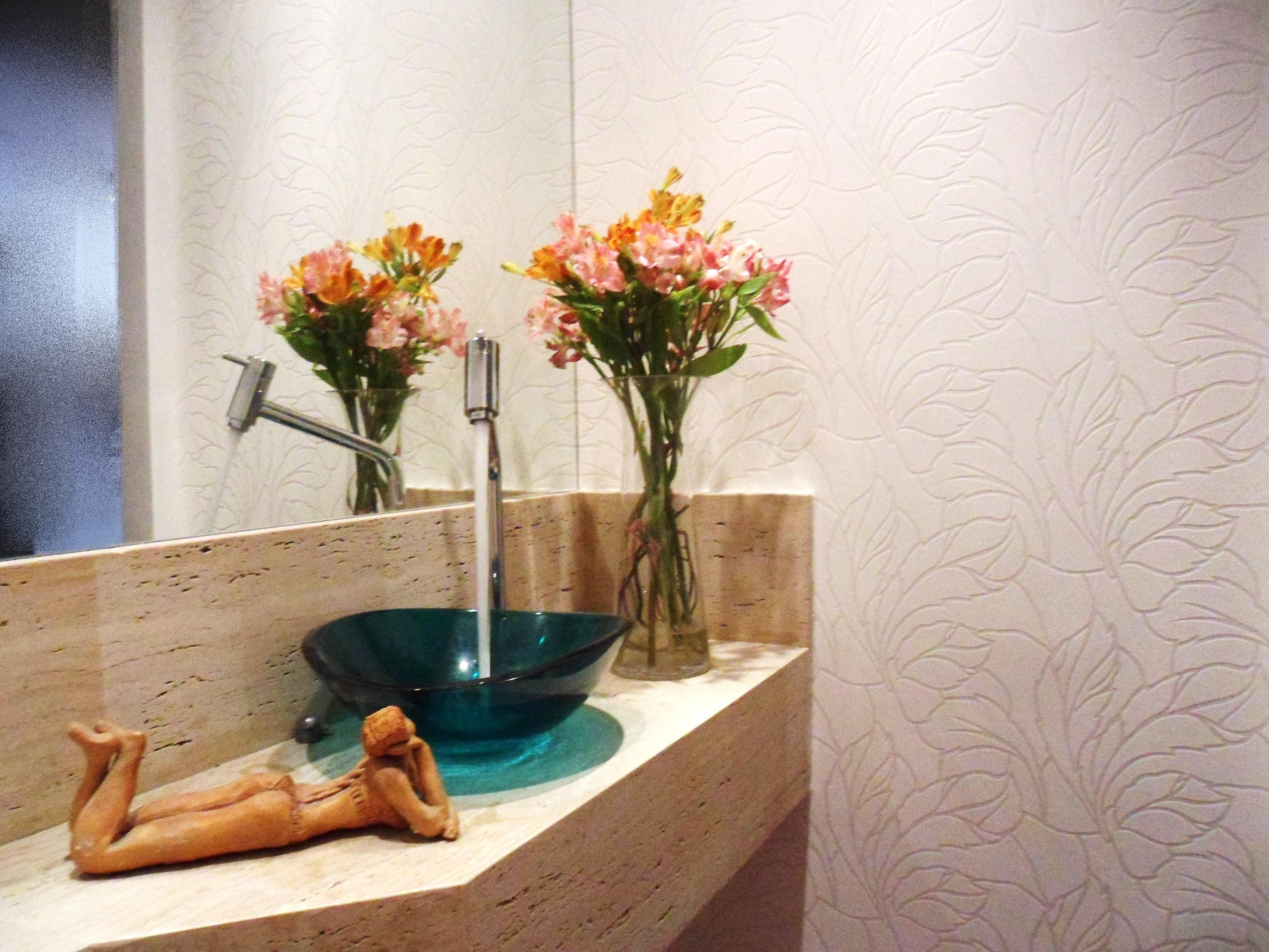 Hoje vou mostrar para vocês um lavabo que fiz recentemente ele foi  #9D622E 4320 3240